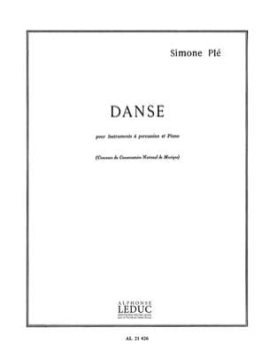 Danse - Simone Plé - Partition - Multi Percussions - laflutedepan.com