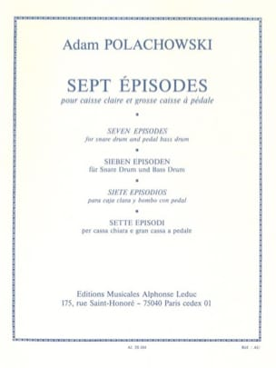 Adam Polachowski - 7 Episodes - Sheet Music - di-arezzo.com
