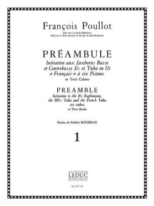 François Poullot - Preamble Volume 1 - Sheet Music - di-arezzo.co.uk