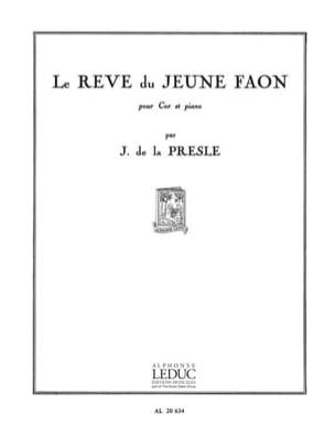 J. de La Presle - Rêve du Jeune Faon - Partition - di-arezzo.fr