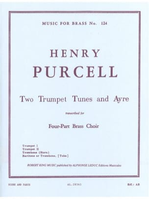 2 Trumpet tunes and ayres - Henry Purcell - laflutedepan.com