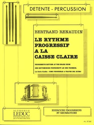 Bertrand Renaudin - Progressive Rhythm At The Caisse Claire - Sheet Music - di-arezzo.com