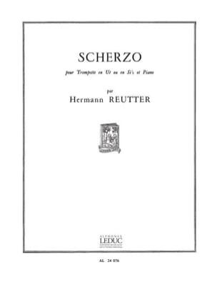 Hermann Reutter - Scherzo - Partition - di-arezzo.fr