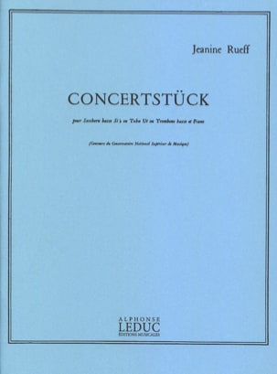Jeanine Rueff - Concertstuck - Sheet Music - di-arezzo.com