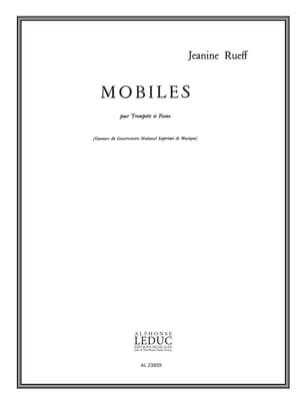 Jeanine Rueff - mobiles - Sheet Music - di-arezzo.co.uk