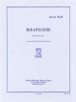Jeanine Rueff - Rhapsody - Sheet Music - di-arezzo.co.uk