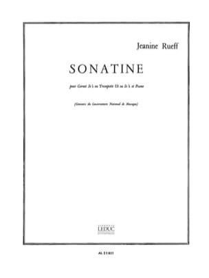 Jeanine Rueff - ソナチネ - 楽譜 - di-arezzo.jp