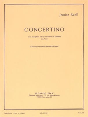 Jeanine Rueff - Concertino Opus 17 - Sheet Music - di-arezzo.co.uk