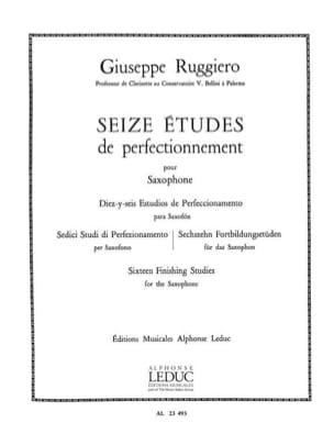 16 Etudes de Perfectionnement - Ruggiero - laflutedepan.com