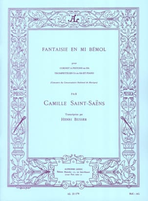 Camille Saint-Saëns - Fantasy In E Flat - Sheet Music - di-arezzo.co.uk