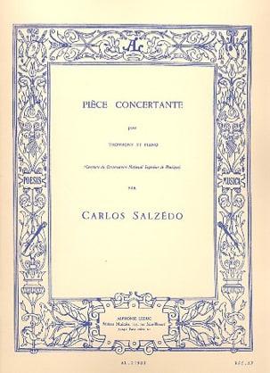 Carlos Salzedo - Pièce Concertante - Partition - di-arezzo.fr