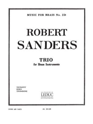 Sanders - Trio - Partition - di-arezzo.fr