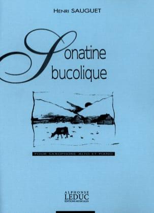 Henri Sauguet - Sonatine Bucolique - Partition - di-arezzo.fr