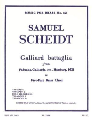 Galliard Battaglia - Quintette de Cuivres Samuel Scheidt laflutedepan