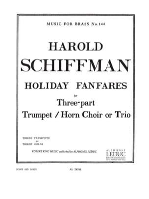 Harold Schiffman - Holiday Fanfare - Partition - di-arezzo.fr