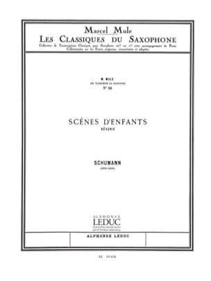 Robert Schumann - Scènes d'enfants (Rêverie) - Partition - di-arezzo.fr