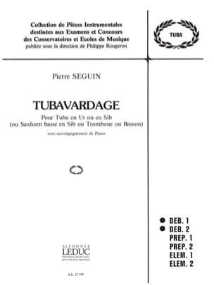 Tubavardage Pierre Seguin Partition Tuba - laflutedepan