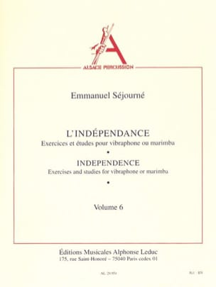 Emmanuel Séjourné - Independence Volume 6 - Sheet Music - di-arezzo.co.uk