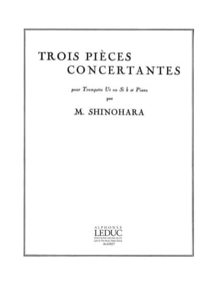 Makoto Shinohara - Trois Pièces Concertantes - Partition - di-arezzo.fr