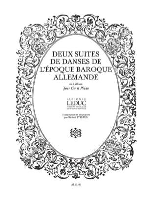 - 2 Suites de Danses de L'époque Baroque Allemande - Partition - di-arezzo.fr