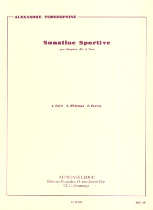 Alexander Tcherepnin - Sporty Sonatine - Sheet Music - di-arezzo.co.uk