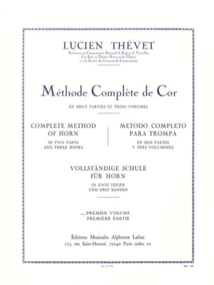 Lucien Thévet - Complete Method Volume 1 - Sheet Music - di-arezzo.com