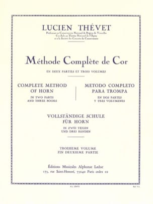 Lucien Thévet - Complete Method Volume 3 - Sheet Music - di-arezzo.com