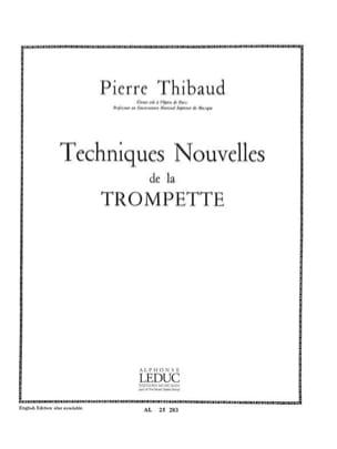 Technique Nouvelle - Thibaud - Partition - laflutedepan.com