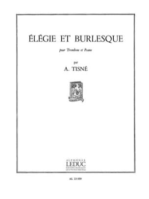 Elégie Et Burlesque Opus 32 N° 1 Antoine Tisné Partition laflutedepan