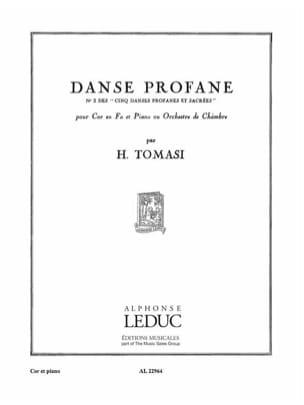 Henri Tomasi - 5 Danses Profanes N° 2 - Partition - di-arezzo.fr