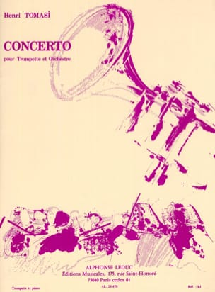 Henri Tomasi - Concerto - Sheet Music - di-arezzo.co.uk
