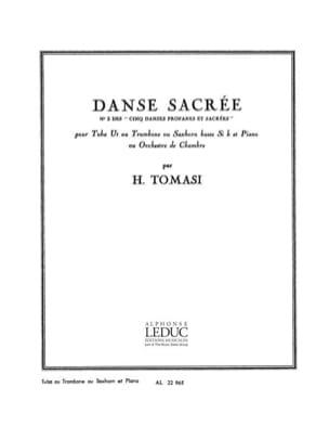 Henri Tomasi - Danse Sacrée - Partition - di-arezzo.fr