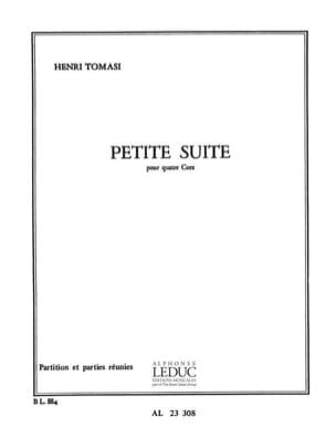 Henri Tomasi - Petite Suite - Partition - di-arezzo.fr