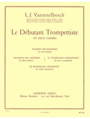 Vannetelbosch - Débutant Trompettiste Volume 1 - Partition - di-arezzo.fr