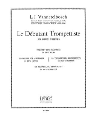 Vannetelbosch - Débutant Trompettiste Volume 2 - Partition - di-arezzo.fr