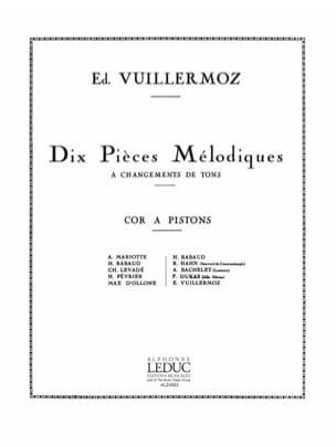 Ed. Vuillermoz - 10 Pièces Mélodiques - Partition - di-arezzo.fr