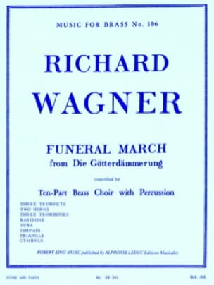 Richard Wagner - Funeral March Die Götterdämmerung) - Partition - di-arezzo.fr
