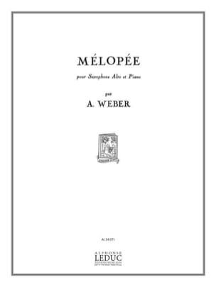 A. Weber - Mélopée - Partition - di-arezzo.fr