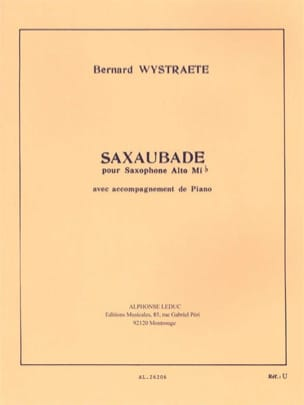 Bernard Wystraete - Saxaubade - Sheet Music - di-arezzo.co.uk
