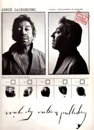 Serge Gainsbourg - Estás bajo arresto - 10 éxitos - Partitura - di-arezzo.es