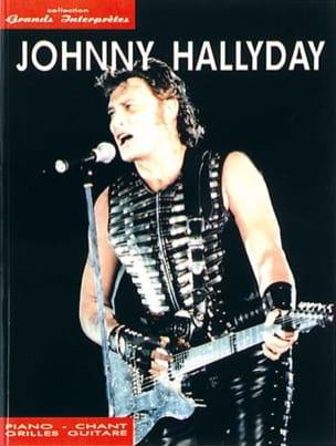 Johnny Hallyday - Collezione Great Performers - Partitura - di-arezzo.it