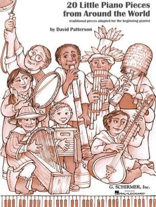 David Patterson - 20 Little Piano Pieces From Around The World - Partition - di-arezzo.fr