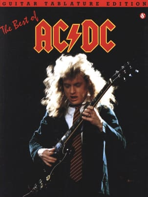 AC/DC Best Of Guitar Tab AC-DC Partition Pop / Rock - laflutedepan
