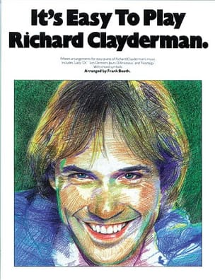 Richard Clayderman - It's easy to play Richard Clayderman - Partition - di-arezzo.fr