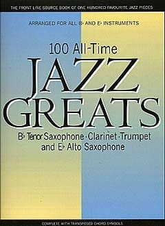 - 100 All Time Jazz Greats - Sheet Music - di-arezzo.com