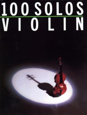- 100 Solos Violin - Partition - di-arezzo.fr