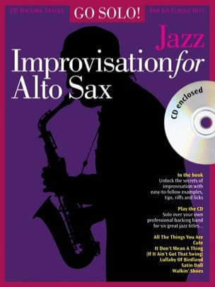 - Go Solo! Improvisation For Alto Sax Jazz - Sheet Music - di-arezzo.com