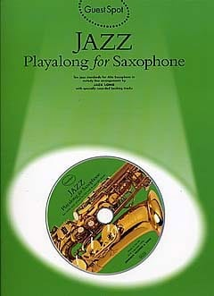 - Guest Spot - Jazz Playalong For Alto Saxophone - Sheet Music - di-arezzo.com