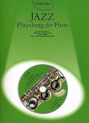 Guest Spot - Jazz Playalong For Flute Partition laflutedepan