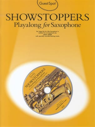- Guest Spot - Showstoppers Playalong For Alto Saxophone - Partition - di-arezzo.fr